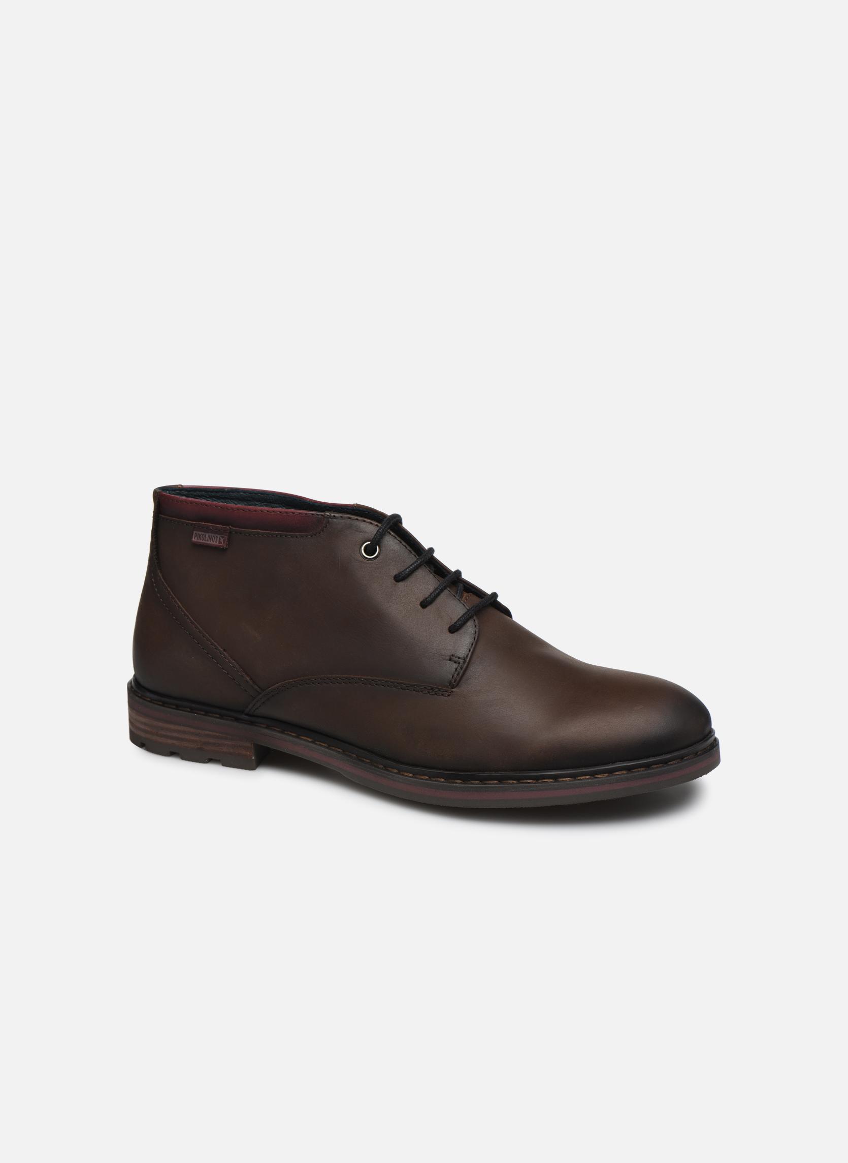Bottines et boots Pikolinos CACERES M9E-8129SP Marron vue détail/paire