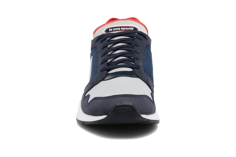 Baskets Le Coq Sportif Omega X GS Techlite Bleu vue portées chaussures