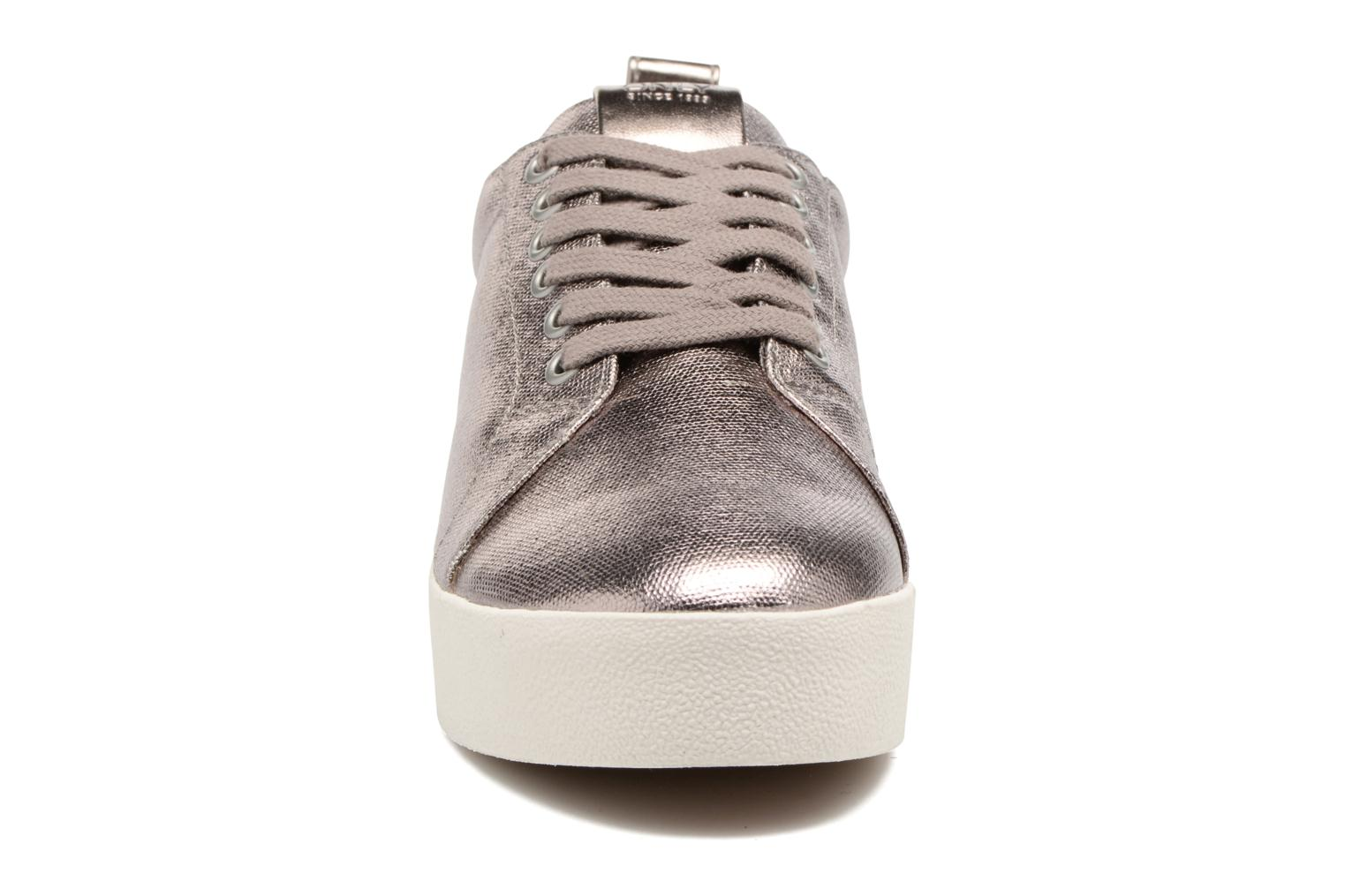 Baskets ONLY Selma sneaker Or et bronze vue portées chaussures