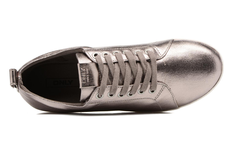 Sneakers ONLY Selma sneaker Goud en brons links
