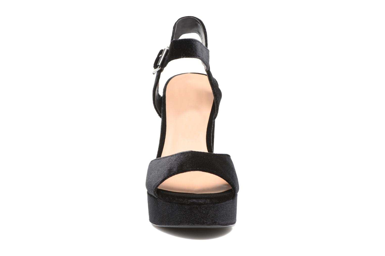 Sandales et nu-pieds ONLY Alli heeled sandal Noir vue portées chaussures