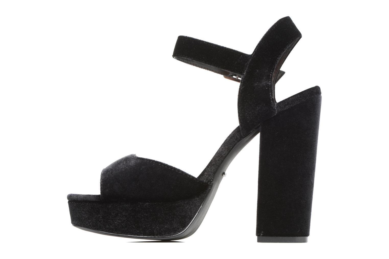 Sandales et nu-pieds ONLY Alli heeled sandal Noir vue face