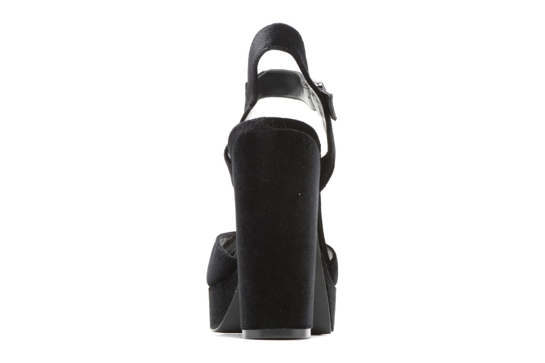 Sandales et nu-pieds ONLY Alli heeled sandal Noir vue droite