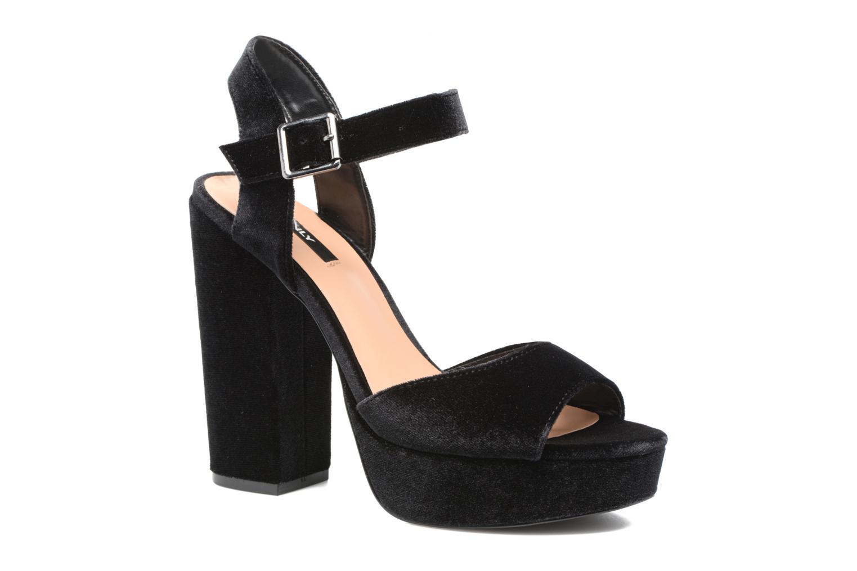 Sandales et nu-pieds ONLY Alli heeled sandal Noir vue détail/paire