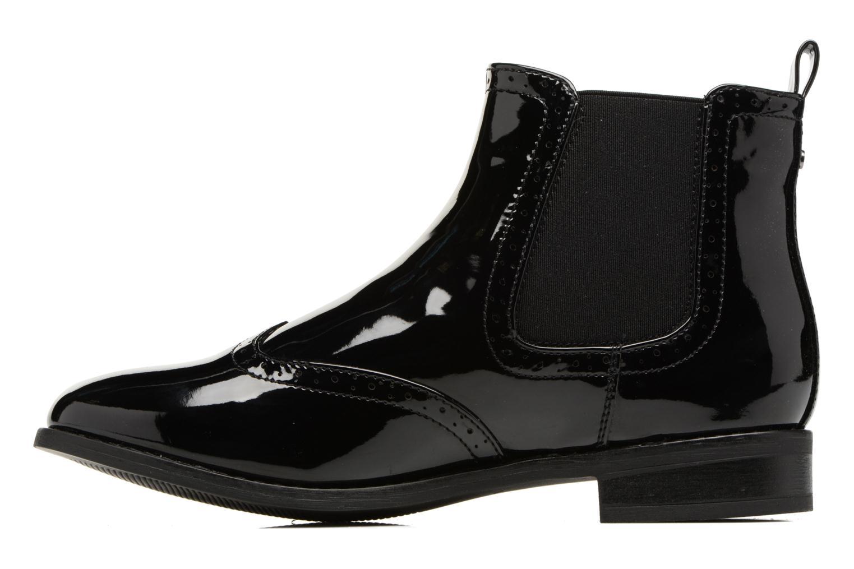 Bottines et boots ONLY Bobby shiny bootie Noir vue face