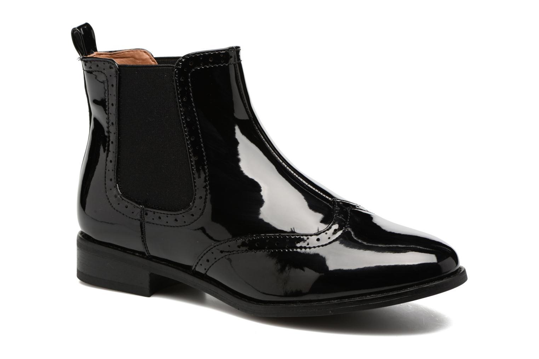 Bottines et boots ONLY Bobby shiny bootie Noir vue détail/paire
