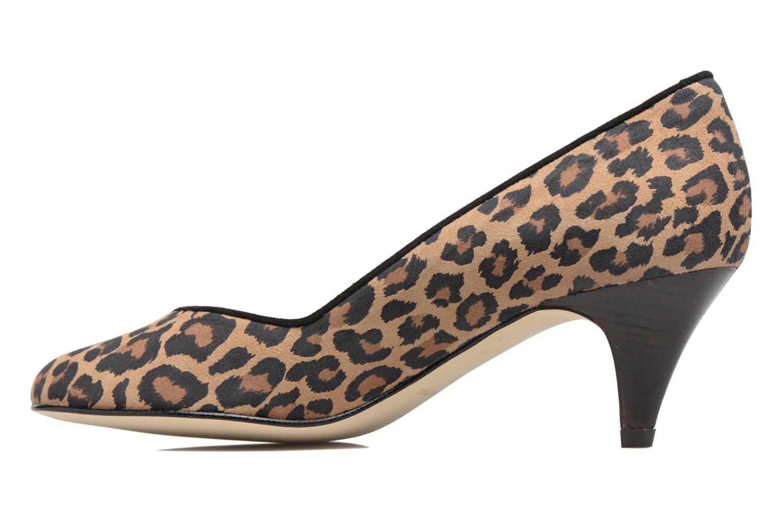 High heels Georgia Rose Eleonie Brown front view