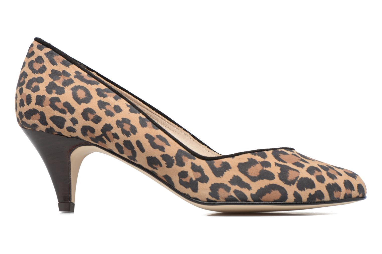 High heels Georgia Rose Eleonie Brown back view