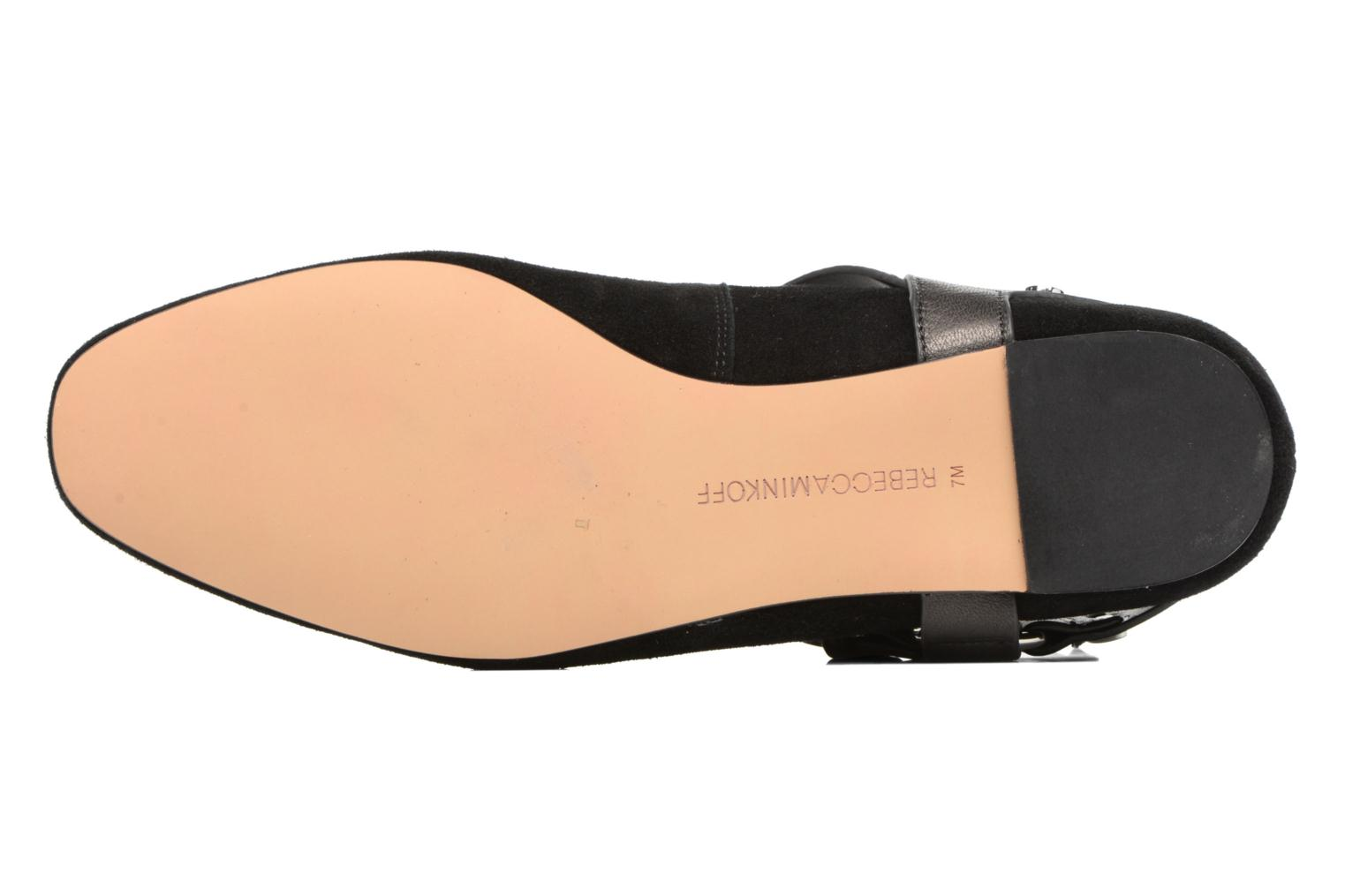 Ballet pumps Rebecca Minkoff Vivica Black view from above