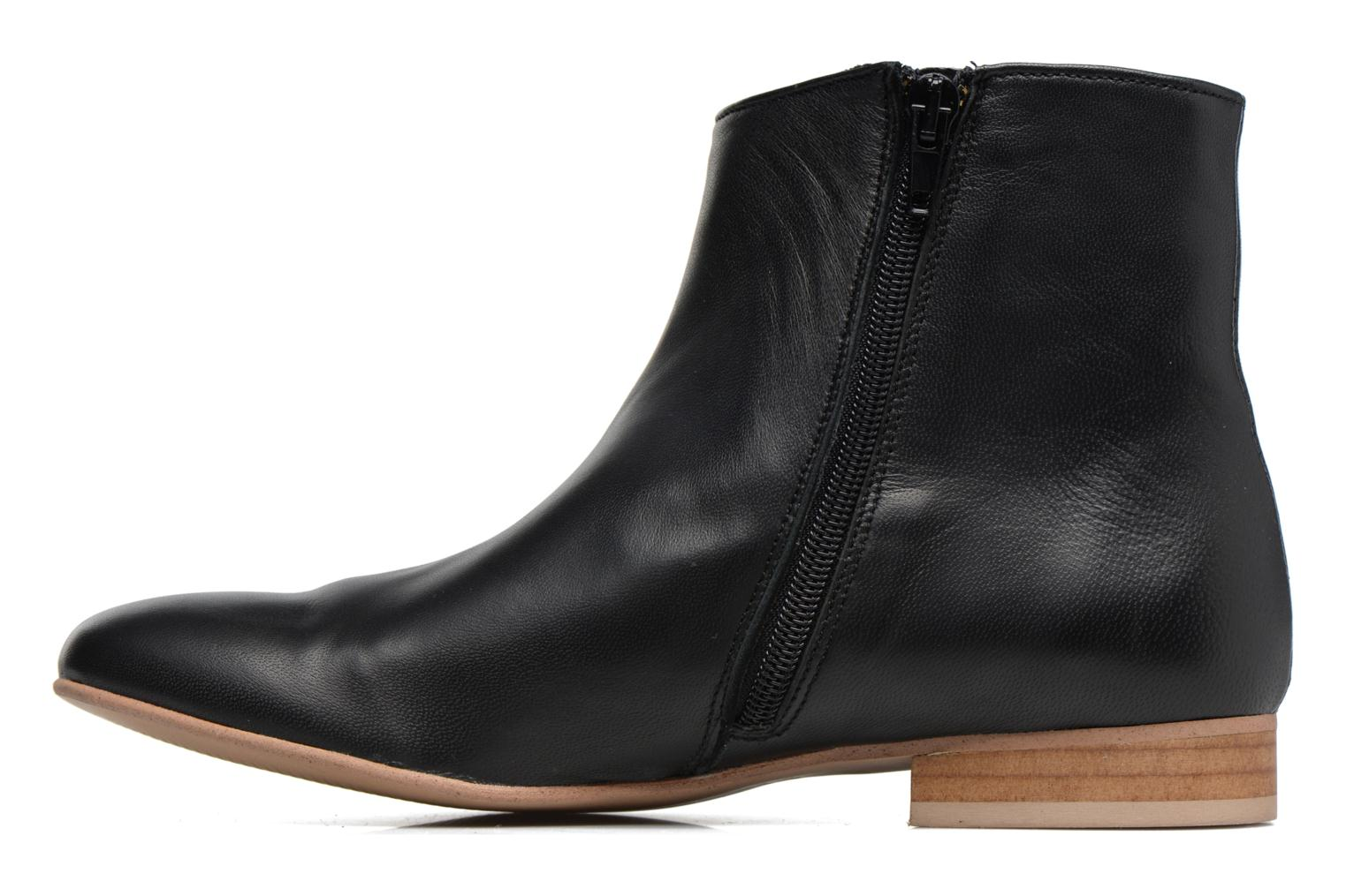 Bottines et boots Georgia Rose Hersi Noir vue face