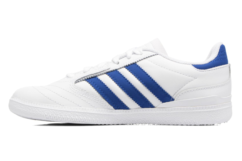 Baskets Adidas Originals Busenitz J Blanc vue face