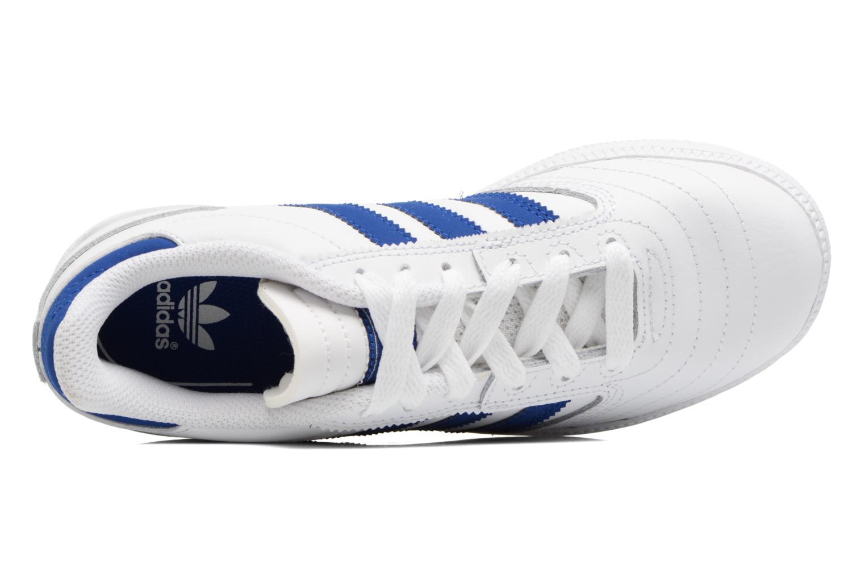 Baskets Adidas Originals Busenitz J Blanc vue gauche