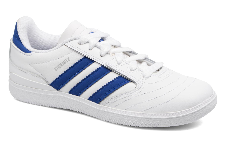 Baskets Adidas Originals Busenitz J Blanc vue détail/paire