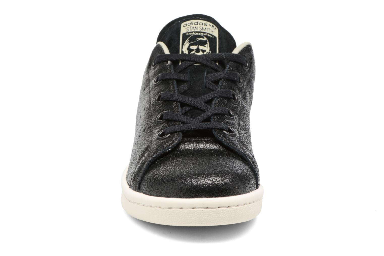 Baskets Adidas Originals Stan Smith Fashion C Noir vue portées chaussures