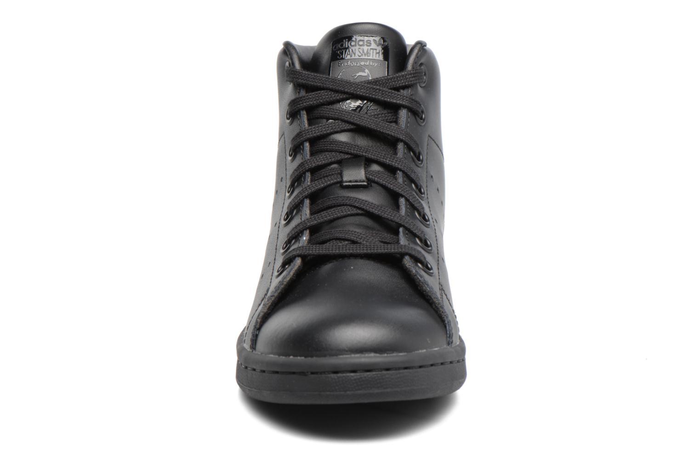 Baskets Adidas Originals Stan Smith Mid J Noir vue portées chaussures