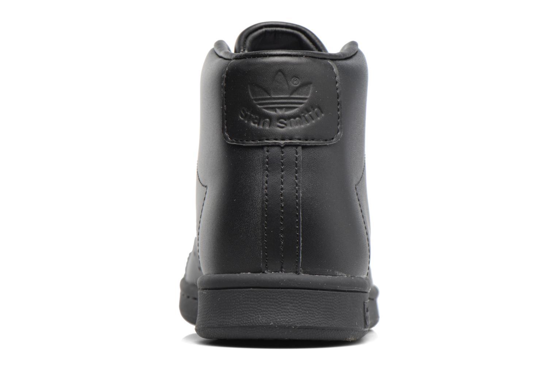 Baskets Adidas Originals Stan Smith Mid J Noir vue droite