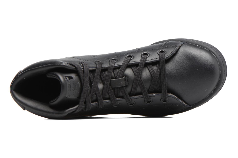 Baskets Adidas Originals Stan Smith Mid J Noir vue gauche