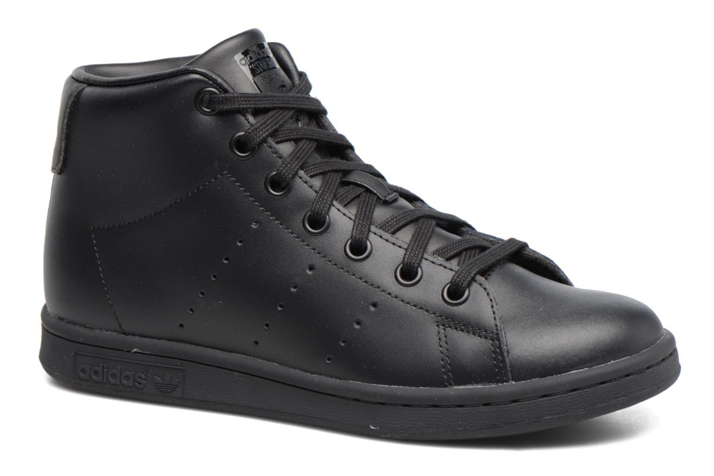 Baskets Adidas Originals Stan Smith Mid J Noir vue détail/paire