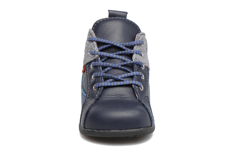 Chaussures à lacets Bopy Zorano Bleu vue portées chaussures