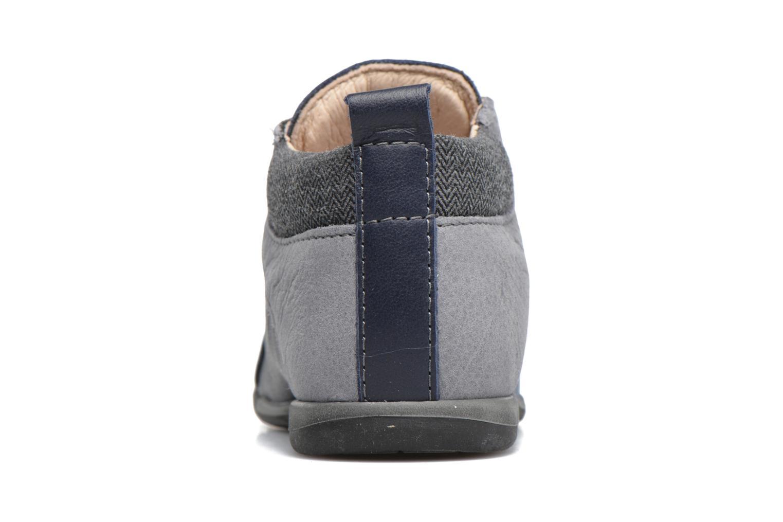 Chaussures à lacets Bopy Zorano Bleu vue droite