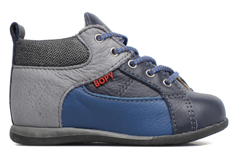 Chaussures à lacets Bopy Zorano Bleu vue derrière