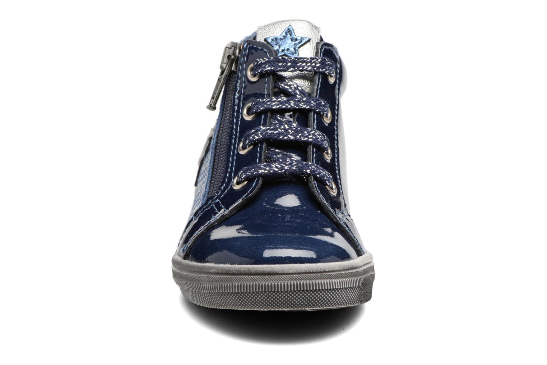 Baskets Bopy Bola Bleu vue portées chaussures