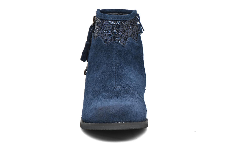 Bottines et boots Bopy Nobila lillybellule Bleu vue portées chaussures