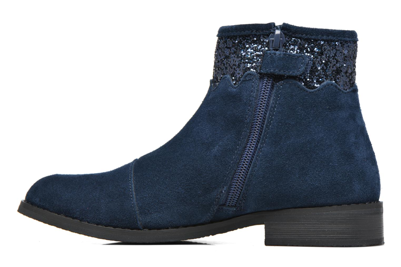 Bottines et boots Bopy Nobila lillybellule Bleu vue face