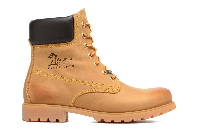 Bottines et boots Panama Jack Panama 03 C1 Jaune vue derrière