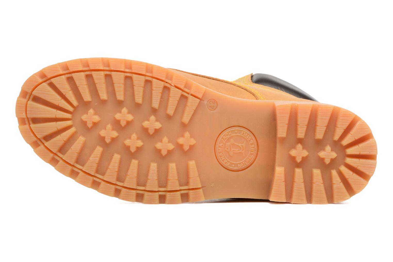 Bottines et boots Panama Jack Panama 03 C1 Jaune vue haut