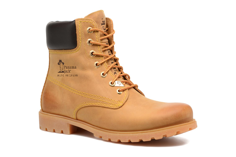 Bottines et boots Panama Jack Panama 03 C1 Jaune vue détail/paire
