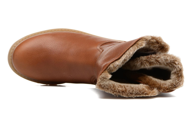 Bottines et boots Panama Jack Felia Marron vue gauche