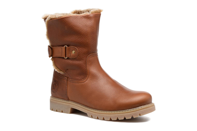 Bottines et boots Panama Jack Felia Marron vue détail/paire