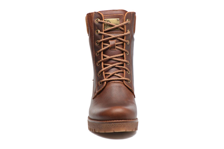 Bottines et boots Panama Jack Phoebe Marron vue portées chaussures