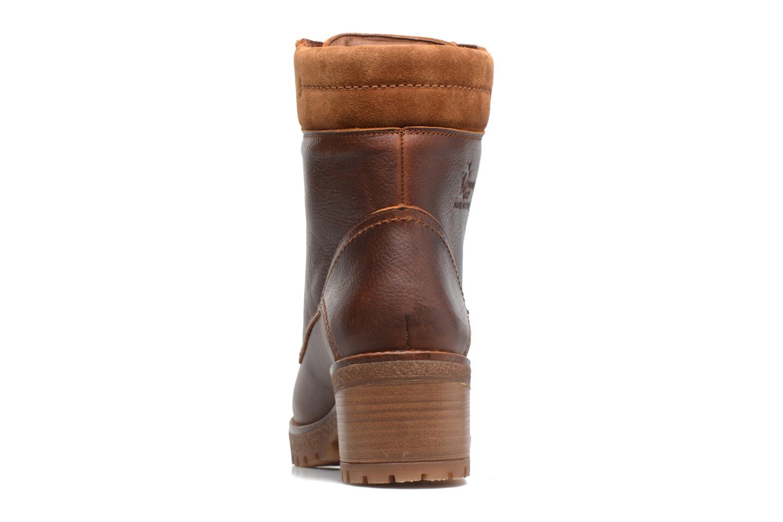 Bottines et boots Panama Jack Phoebe Marron vue droite