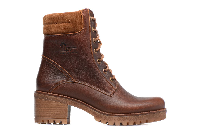 Bottines et boots Panama Jack Phoebe Marron vue derrière