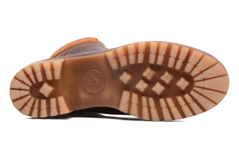 Bottines et boots Panama Jack Phoebe Marron vue haut