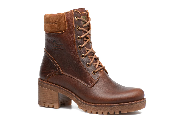 Bottines et boots Panama Jack Phoebe Marron vue détail/paire