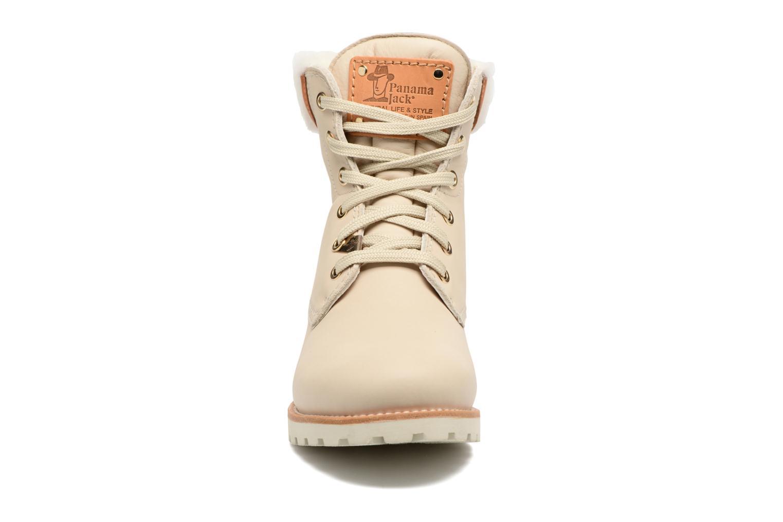 Bottines et boots Panama Jack Panama 03 Igloo Travelling Blanc vue portées chaussures