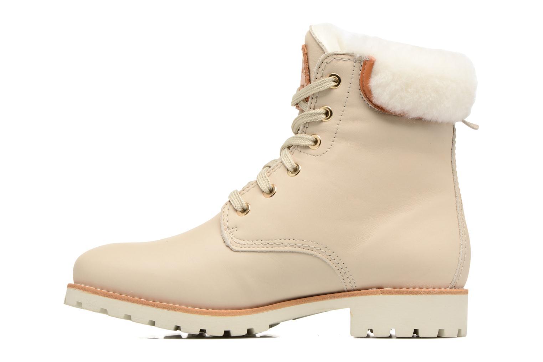 Bottines et boots Panama Jack Panama 03 Igloo Travelling Blanc vue face