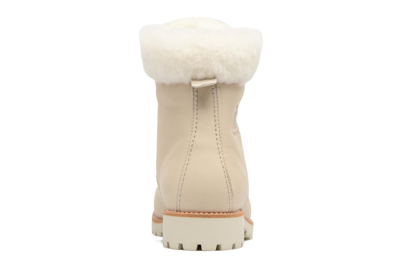 Bottines et boots Panama Jack Panama 03 Igloo Travelling Blanc vue droite