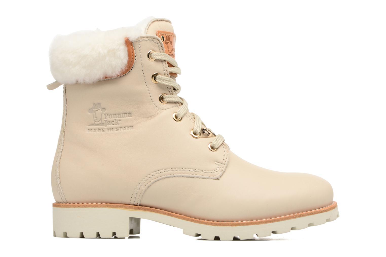 Bottines et boots Panama Jack Panama 03 Igloo Travelling Blanc vue derrière
