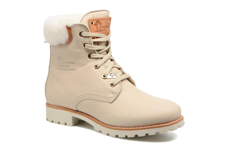 Bottines et boots Panama Jack Panama 03 Igloo Travelling Blanc vue détail/paire