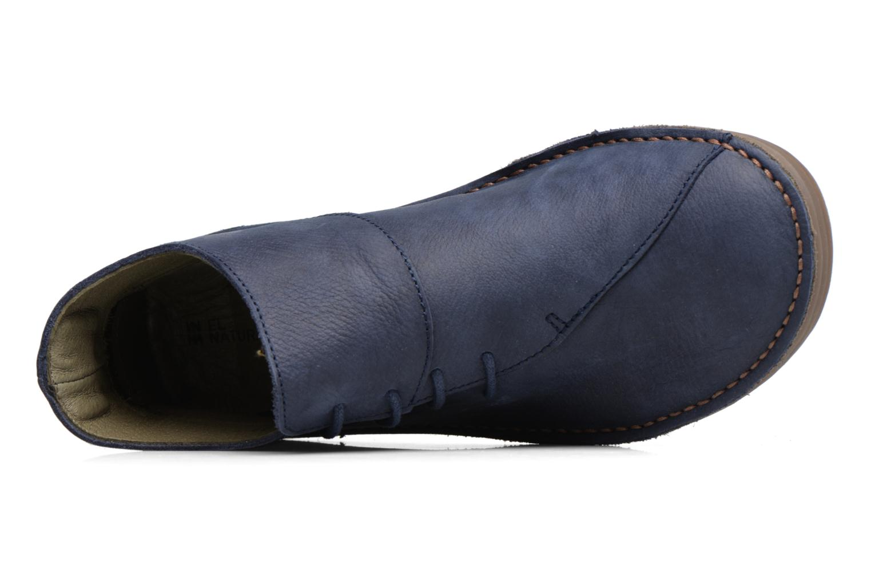 Bottines et boots El Naturalista Rice Field NF81 Bleu vue gauche