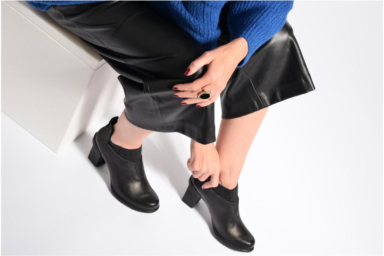 Bottines et boots El Naturalista Nectar N5140 Noir vue bas / vue portée sac