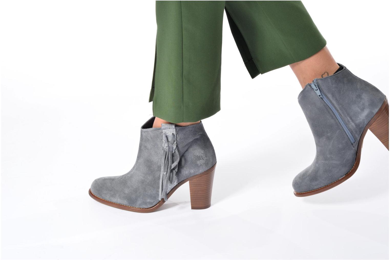 Boots en enkellaarsjes Kaporal Texane Bruin onder
