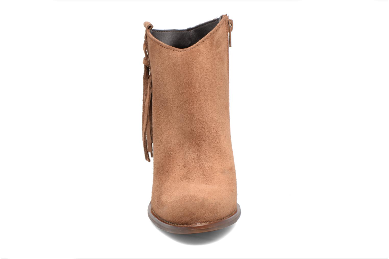 Boots en enkellaarsjes Kaporal Texane Bruin model
