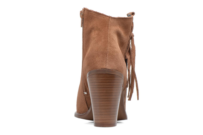 Boots en enkellaarsjes Kaporal Texane Bruin rechts