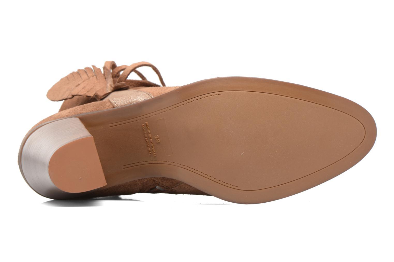 Boots en enkellaarsjes Kaporal Texane Bruin boven