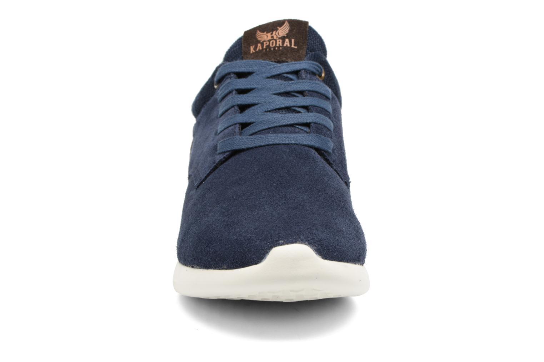 Baskets Kaporal Kaiko Bleu vue portées chaussures